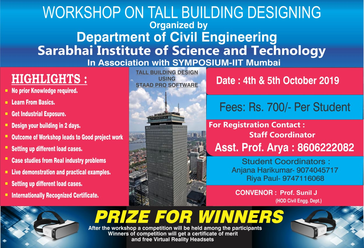 Workshop on Tall Building Designing
