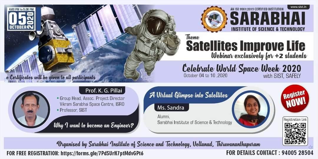 Celebrate World Space week 2020