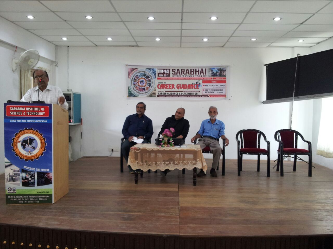 """""""Seminar on Career Guidance"""" Organised by Career Guidance and Placement Unit"""