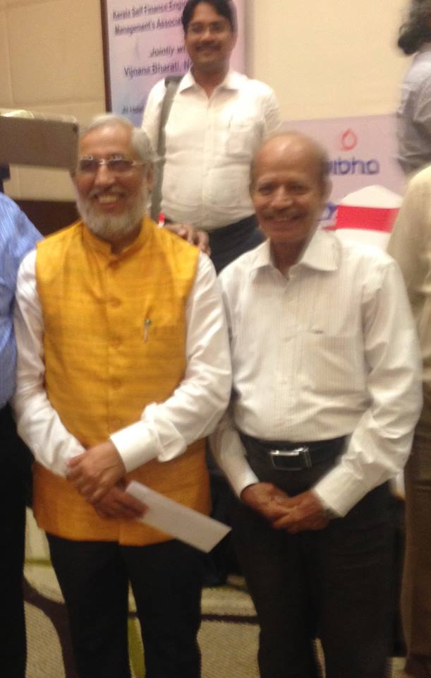 SIST Director with AICTE Chairman in a meeting held on 27th July 2017