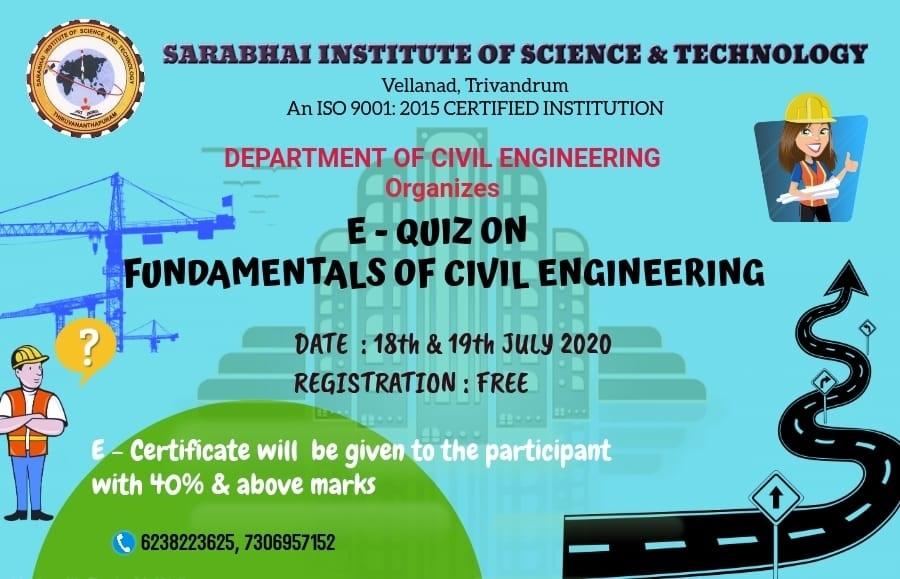 E-Quiz on Fundamentals of Civil Engineering